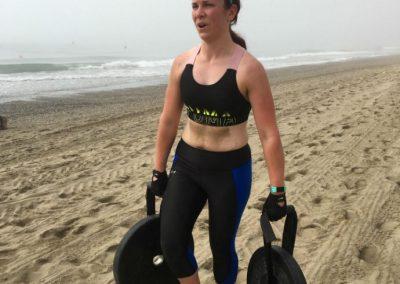 Rebel Health beach training